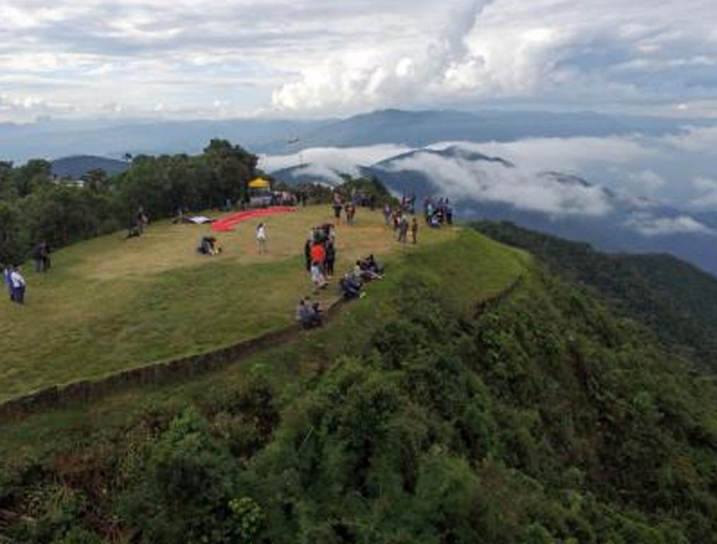 Pico do Agudo - ponto alto de Santo Antonio do Pinhal SP